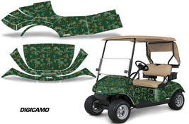 Golf Cart Graphics Kit Decal Sticker Wrap For EZ-Go TXT 2014-2018 DIGICA... - $297.95