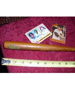 "LAST.N.LAST Miniature Vintage wood 12"" baseball bat  - $6.00"