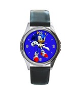 New Hot Sonic the Hedgehog Leather Watch wristwatch Gift - $10.80