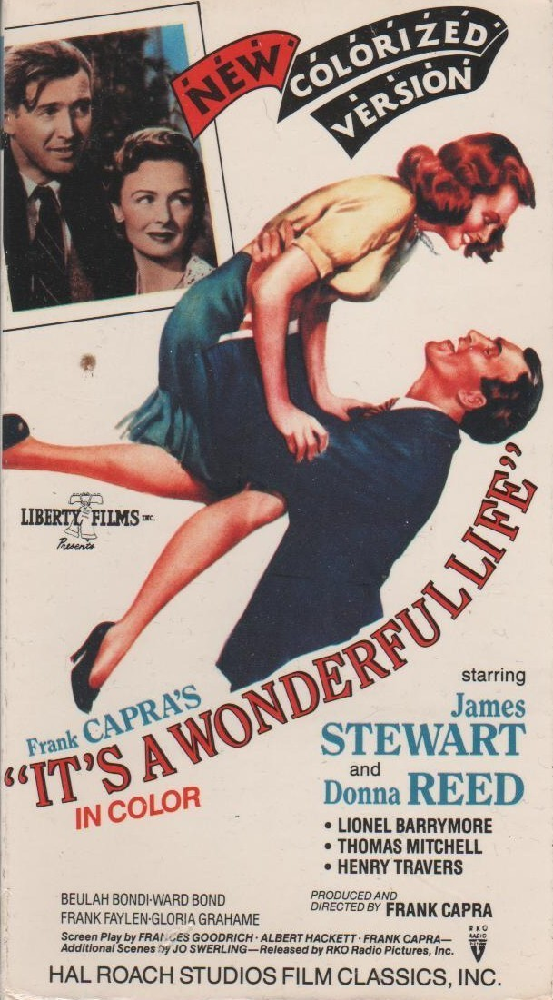 It 39 S A Wonderful Life Colorized Version Vhs Vhs Tapes