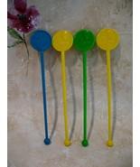 JAL Japan Airlines Souvenir Swizzle Stir Sticks Lot of 4 - $3.99