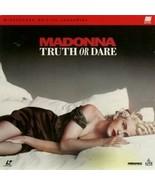 Madonna Truth Or Dare RARE Widescreen Edition LaserDisc - $9.99