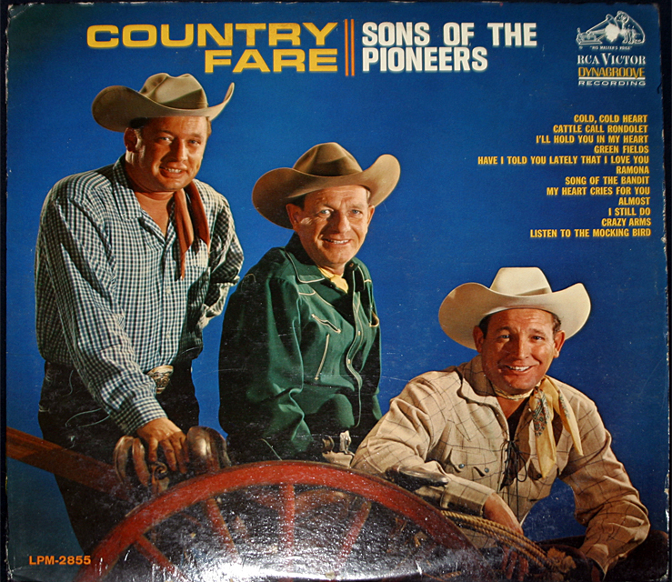 The sons of the pioneets  country fare cover