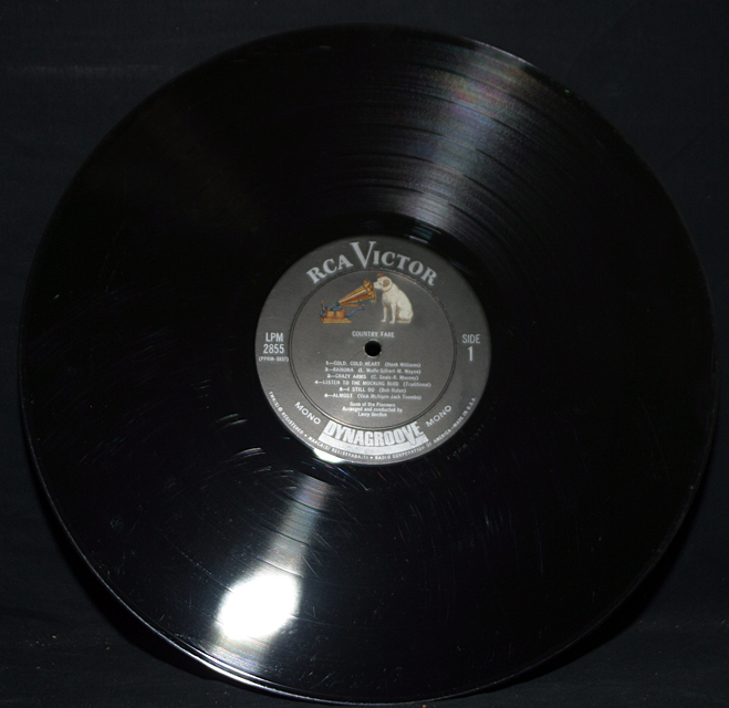 """The Sons Of The Pioneers """"Country Fare""""    LP"""