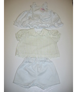 Zapf Baby Born Doll Clothes 3 pc Short Set Outfit - $6.00
