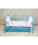 American Girl Doll BlueTrundle Bed with Mattres... - $72.00