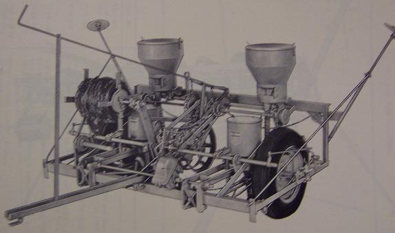 Oliver 252, 452 Corn Planters Parts Manual - Original