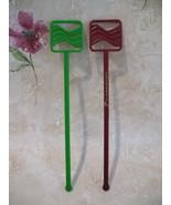 Cathay Pacific Airlines Souvenir Swizzle Stir Sticks Lot 2  - $3.99