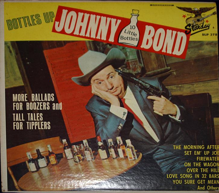 Johnny bond bottles up cover