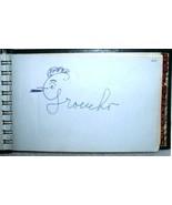 Celebrity Autograph Book 67 Autographs 1950s Single Signatures Index Col... - $999.00