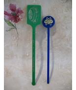 Houston Astros Baseball Souvenir Swizzle Stir Stick Lot of 2 - $3.99