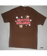 Borat Sexytime Explosion Brown Sz XL Tee Shirt  NWT - $9.99