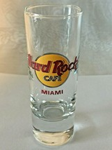 """Hard Rock Cafe Miami - 4"""" City Shot Glass - Collector's Item! Save The Planet - $5.95"""