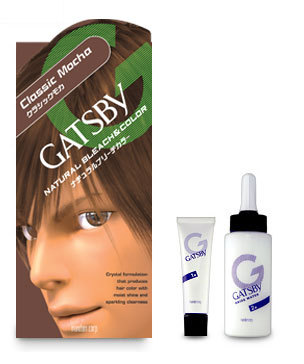 Gatsby Hair Coloring Natural Bleach & Color Hair Dye - Hair Color CLASSIC MOCHA