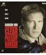 Clear and Present Danger Laserdisc - Harrison Ford - $9.99