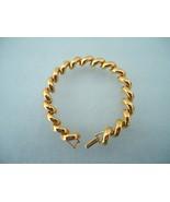 Joan Rivers Goldtone Crescent Link Bracelet - $15.00