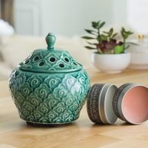 Imperial Jade Candle Breeze Fan Fragrance Warmer - $31.99