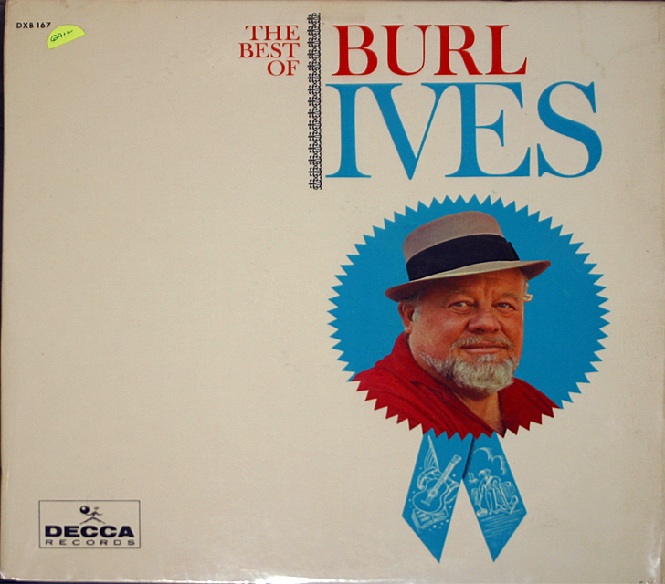 Burl ives best of cover