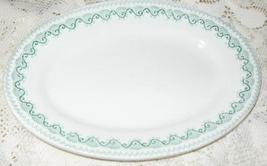 Whitestone Serving Platter-9 in Oval-Franklin-Johnson Brothers-England-1... - $11.00