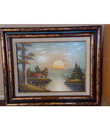 Victor Ball Original Oil Painting Framed - $700.00