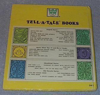 Vintage Children's Tell A Tale Book My Little Book of Pets