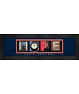 Hope College Officially Licensed Framed Campus Letter Art - $39.95