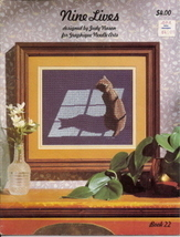 Nine Lives Cross Stitch Designs Cats Indepth Study - $4.75