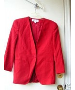 Saville Red Suit Jacket 8 [40 bust] - $10.00