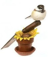 Big Sky Carvers, Sunflower Song, Chickadee figurine, Masters Ed., New - $110.00