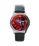 New Hot Deadpool Super Hero Leather Watch wristwatch Gift - $10.80