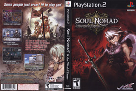 Soul Nomad & The World Eaters CUSTOM PS2 CASE (NO GAME!!!!!!!!) - $5.64