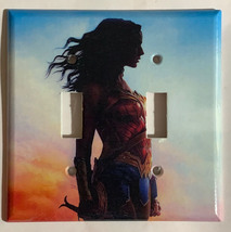 Wonder woman Light Switch Outlet Toggle Rocker Wall Cover Plate Home decor image 3