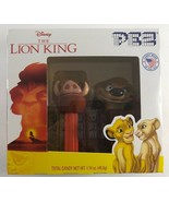 NEW 2019 Disney The Lion King Pumbaa Timon PEZ Dispensers with Candy - $19.79