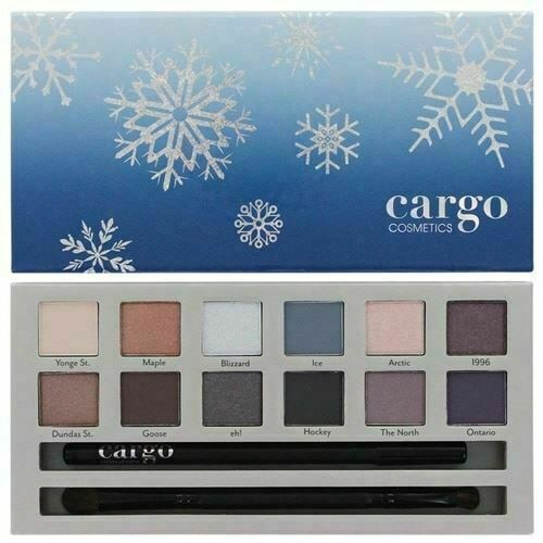 Primary image for Cargo CHILL IN THE SIX Eye Shadow Palette - 12 shadows, eye pencil, brush