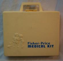 Fisher-Price 1977 VINTAGE #936 MEDICAL KIT DR DOCTOR NURSE Preschool Toy... - $12.38