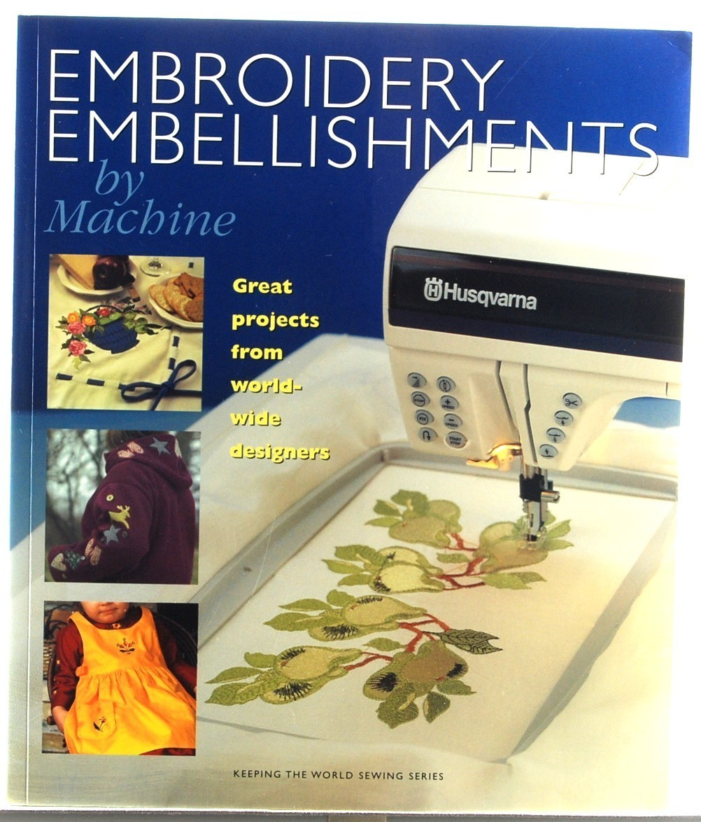 Book embroidery embell