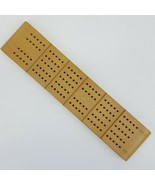 Horn No. C-17 McCrillis C172 Cribbage Board Wood Pegs 1941 Made In U.S.A - $9.99