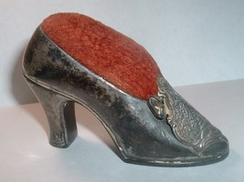 Antique Sewing Shoe Pin Cushion : Soldier's Monument Gettysburg PA - $30.00