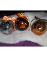 Tiger Paw Glitter Ornament - $6.00