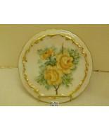 Bavaria Germany Hand Painted Artist Signed Trivet Tea Pot Hot Plate Stand - $40.99