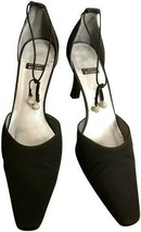 Stuart Weitzman Women's Black Jangles Formal Shoes Size 8.5 - $65.54