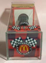 "Coke Coca-Cola McDonald's Mini Miniature 3.5"" Soda Bottle Ricky Rudd #10 1999 image 6"