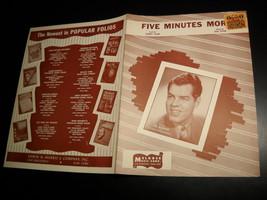 Sheet music five minutes more tex beneke 1946 melrose music 04 thumb200