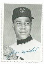 1969 Topps Deckle Edge Insert #32 Juan Marichal, San Francisco Giants - $3.60