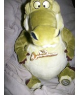 "Disney Store Plush Princess & Frog Bean 14"" LOUIS Alligator - $2.45"