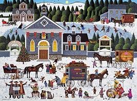 Buffalo Games - Charles Wysocki - Churchyard Christmas - 1000 Piece Jigsaw Puzzl - $16.04