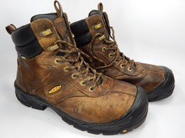 Keen Warren Waterproof Steel Toe Men's Work Boots Shoes Size US 9 M (D) EU 42