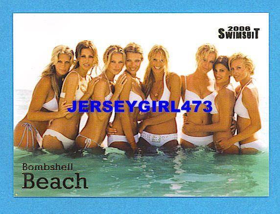 2006 Sports Illustrated SI Swimsuit Bombshell Beach Insert Card #3