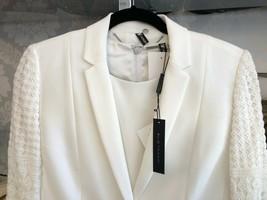 """ELIE TAHARI Cream """"Bora"""" Dress & Jacket Set Style#EN087606 Sz 8 NEW - $208.50"""