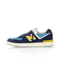 MEN'S SNEAKERS NEW BALANCE 574 ALL COASTS AM574MGN BOAT SHOES MEN SNKRSR... - $99.03